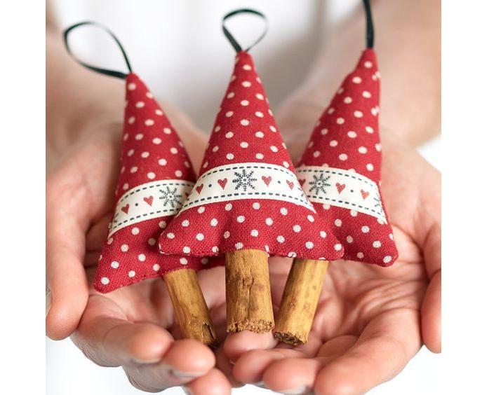 Рождестволық шыршаны жақсы безендіріңіз! Рождество ойыншықтарының 50 жаңа идеясы өзіңіз жасайды, сурет № 19
