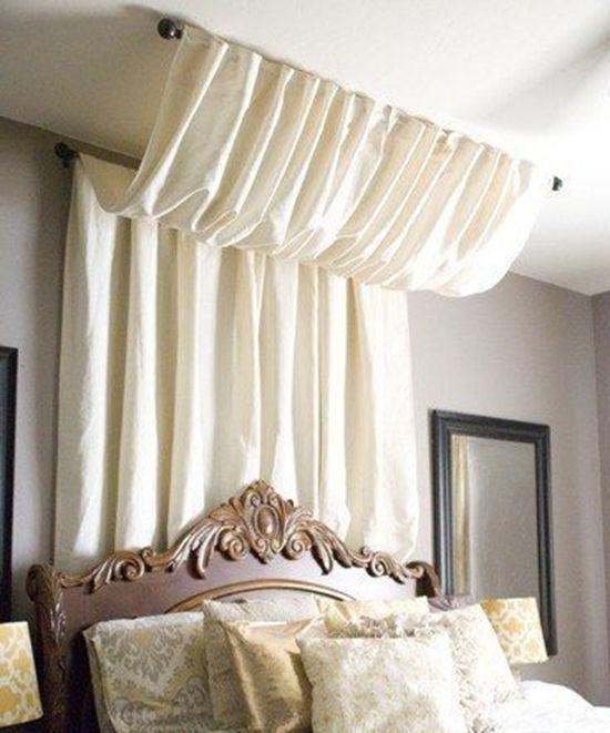 Enkla idéer för hemtak i sovrummet och inte bara, foto nummer 16