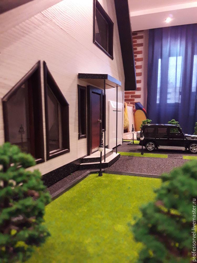 ایجاد یک طرح از خانه از ورقه ورقه، عکس № 7