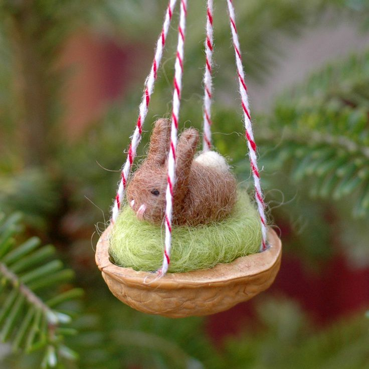 Decorate the Christmas tree interesting! 50 Christmas toy ideas do it yourself, photo № 6