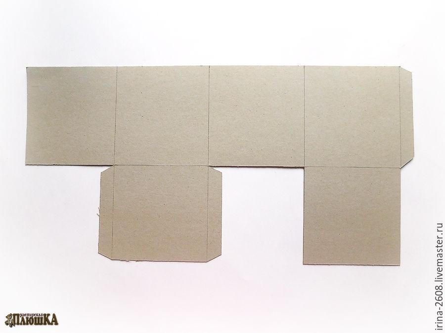 Коробка любого размера с «нуля» своими руками. Быстро, просто, бюджетно, фото № 7