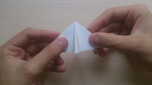 Оригами для чайников: Бабочка Оригами, Бабочка, Своими руками, Длиннопост