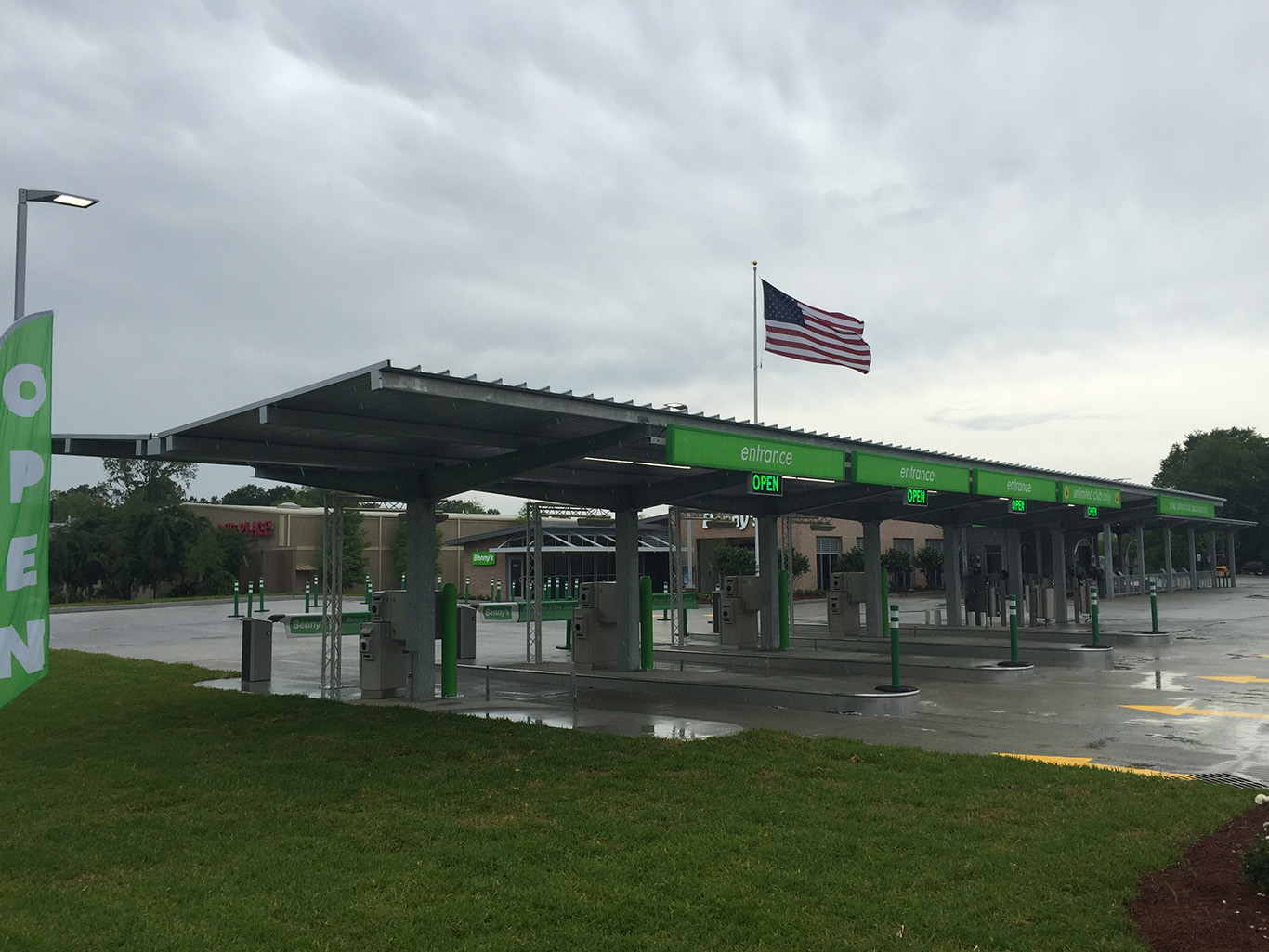 Led Gas Station Canopy Lights