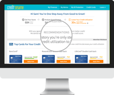 Free Credit Score - No Credit Card Required