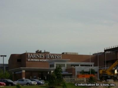 Barnes-Jewish St Peters Hospital in Zip Code 63376