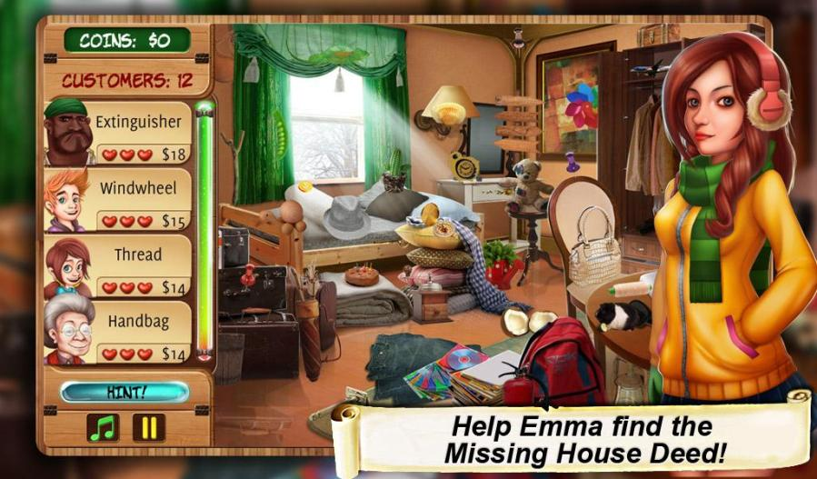 Extending the lifetime of Hidden Object game Home Makeover     CONTROL500