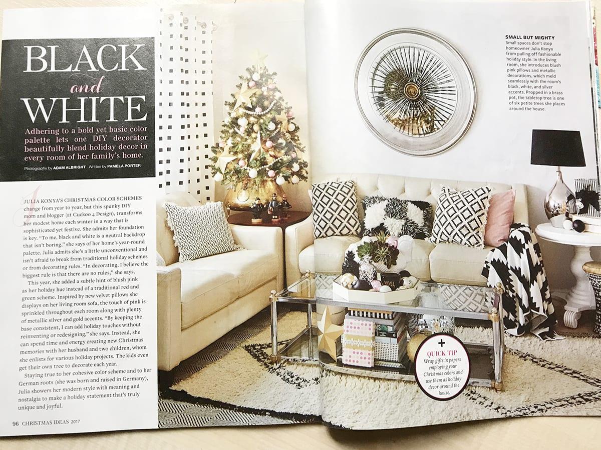 Better Homes And Gardens Christmas Ideas Magazine 2017