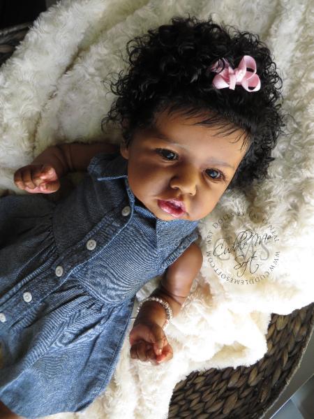 Ethnic Reborn Baby Girl For Sale Zaniya Saskia By