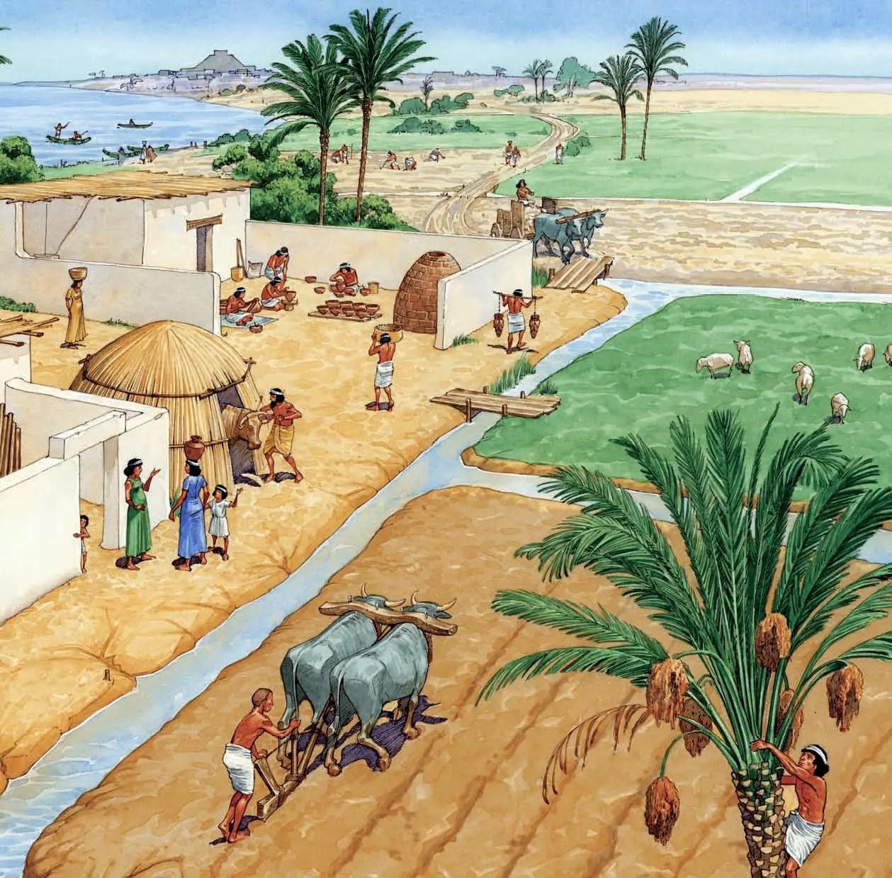 Africa Black Villages