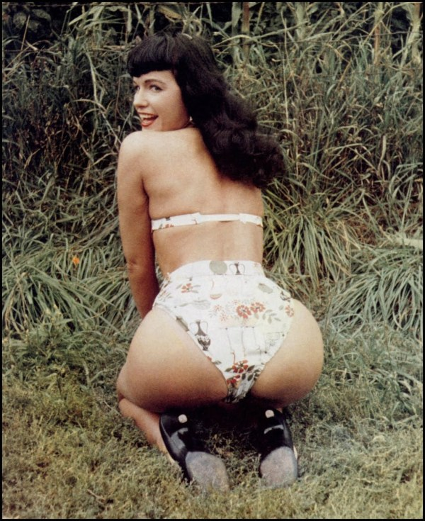 bettie page color # 61