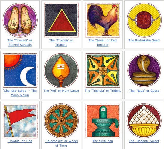 hindu symbols and meanings - 546×497