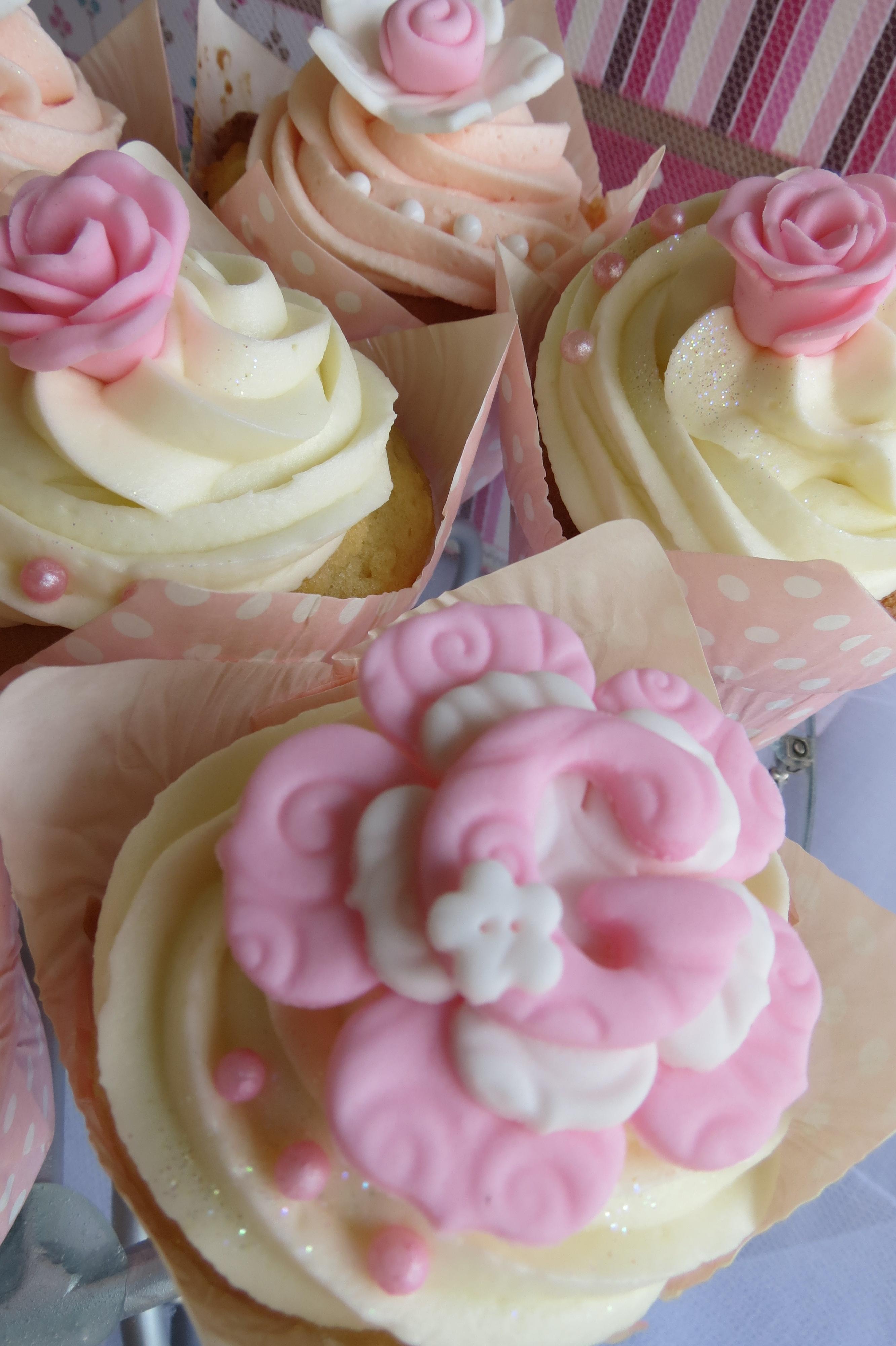 Christening Cupcakes Cupcakes2delite