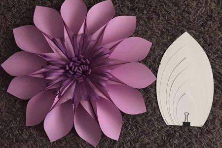 Plantillas De Flores Gigantes Para Imprimir