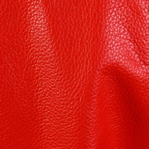 Red Cowhide