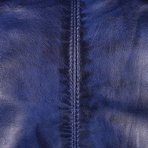 Blue Washed Lambskin