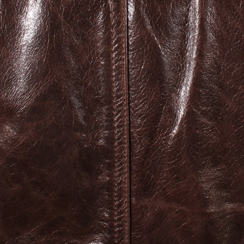 Brown Glazed Lambskin