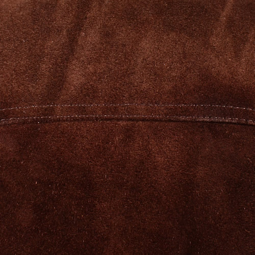 Brown Suede Cowhide