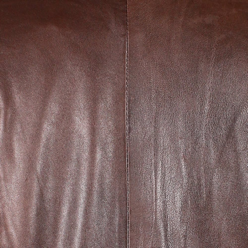 Brown Washed Lambskin
