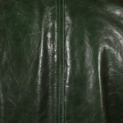 Green Glazed Lambskin