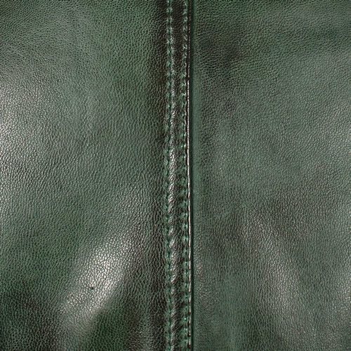 Green Washed Lambskin