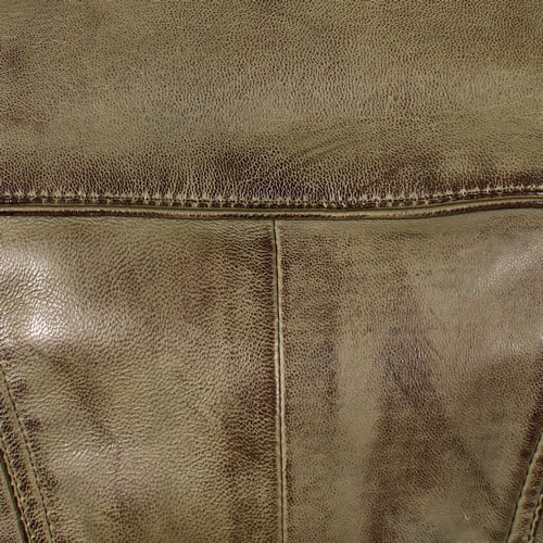 Olive Green Washed Lambskin