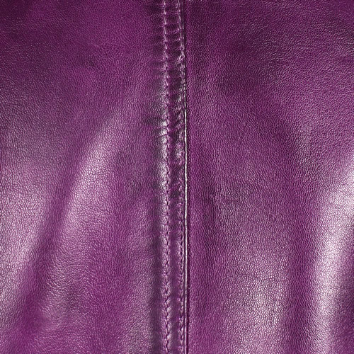 Purple Washed Lambskin