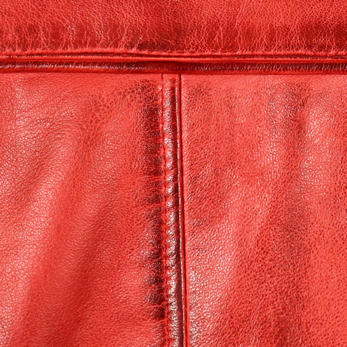 Red Washed Lambskin