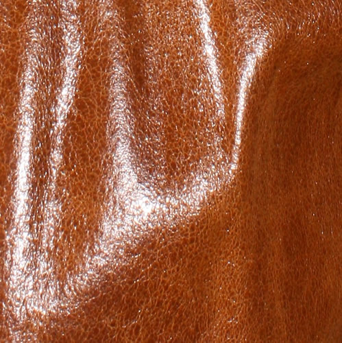 Tan Glazed Lambskin