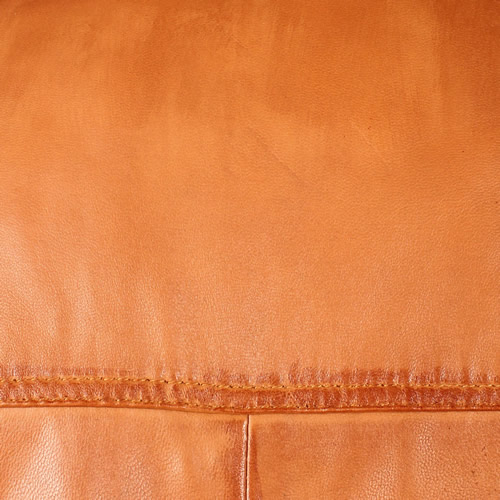 Tan Washed Lambskin