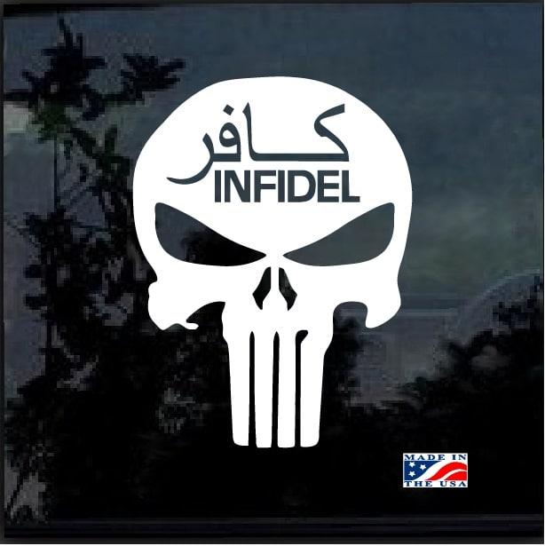 Skull Sticker Decal Punisher