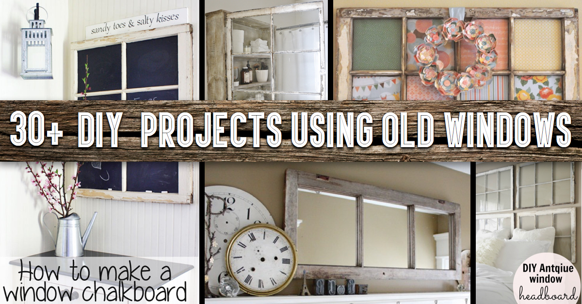 30  DIY Craft Projects Using Old Vintage Windows     Cute DIY Projects 30  DIY Craft Projects Using Old Vintage Windows