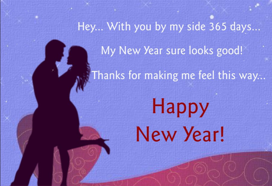 Happy New Year Love Quotes Him