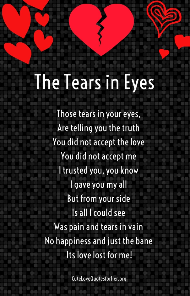 Love Poems for Your Boyfriend that will Make Him Cry - Part 2