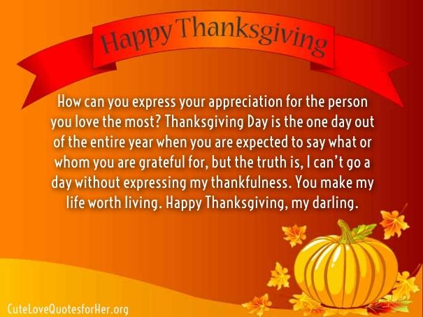 My Sweetheart Thanksgiving Happy
