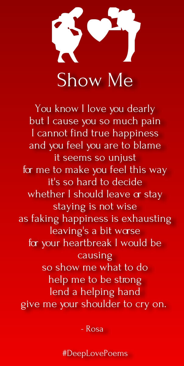 Deep Love Poems for Him – Very Heart Touching