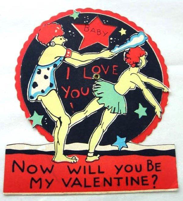 Primitive Valentine Cards
