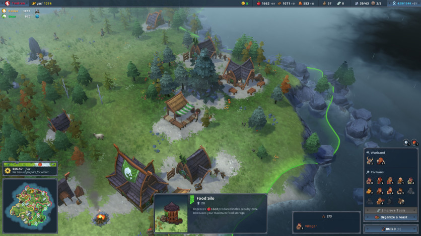 Northgard Review     A Unique Take on Classic RTS Games of Old     Northgard is reminiscent of both the Age of Empires and Settlers series    You have a selection of six different Nordic clans with which to seek your  fortune
