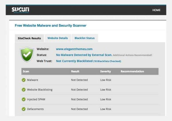 Tools Website Scan Security