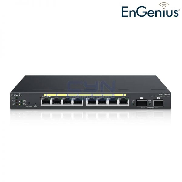 EWS2910P PoE Switch 8-Port