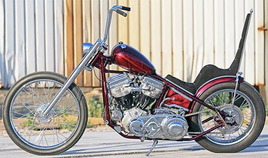 60s Pics Triumph Choppers
