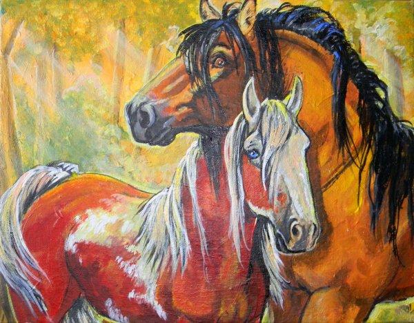 paint spirit stallion of the cimarron # 53