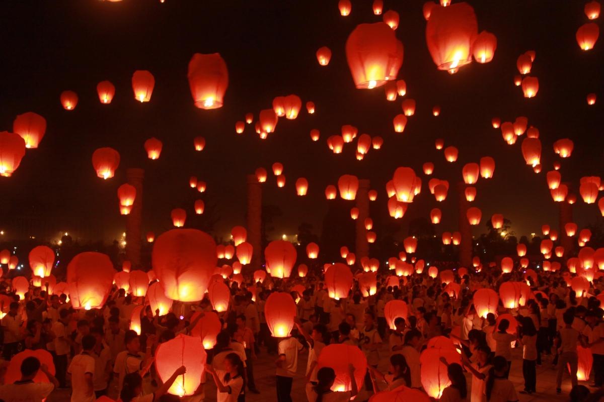 Chinese Lantern Year Drawing New