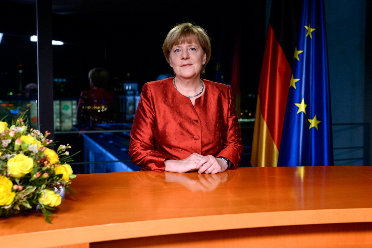 Angela Merkel says refugee crisis is  opportunity  for Germany in     Angela Merkel says refugee crisis is  opportunity  for Germany in New  Year s Eve address