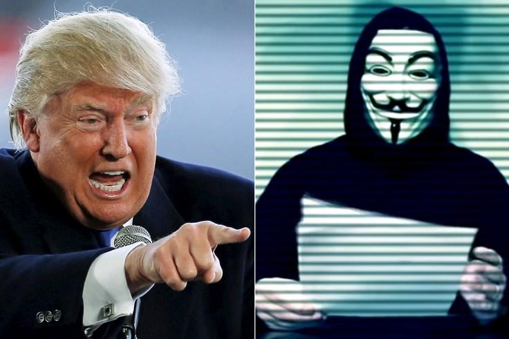 Anonymous hacker group dupes Trump, Secret Service and FBI ...