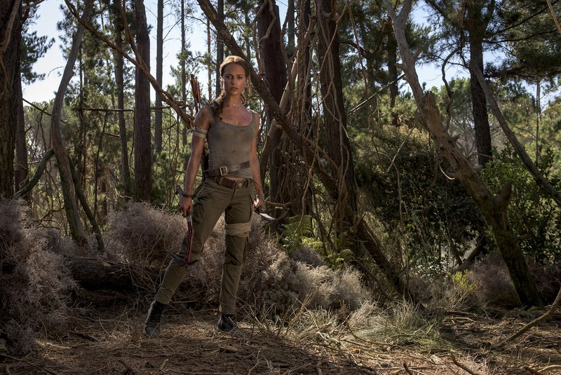 First Official Images Of Alicia Vikander As Lara Croft