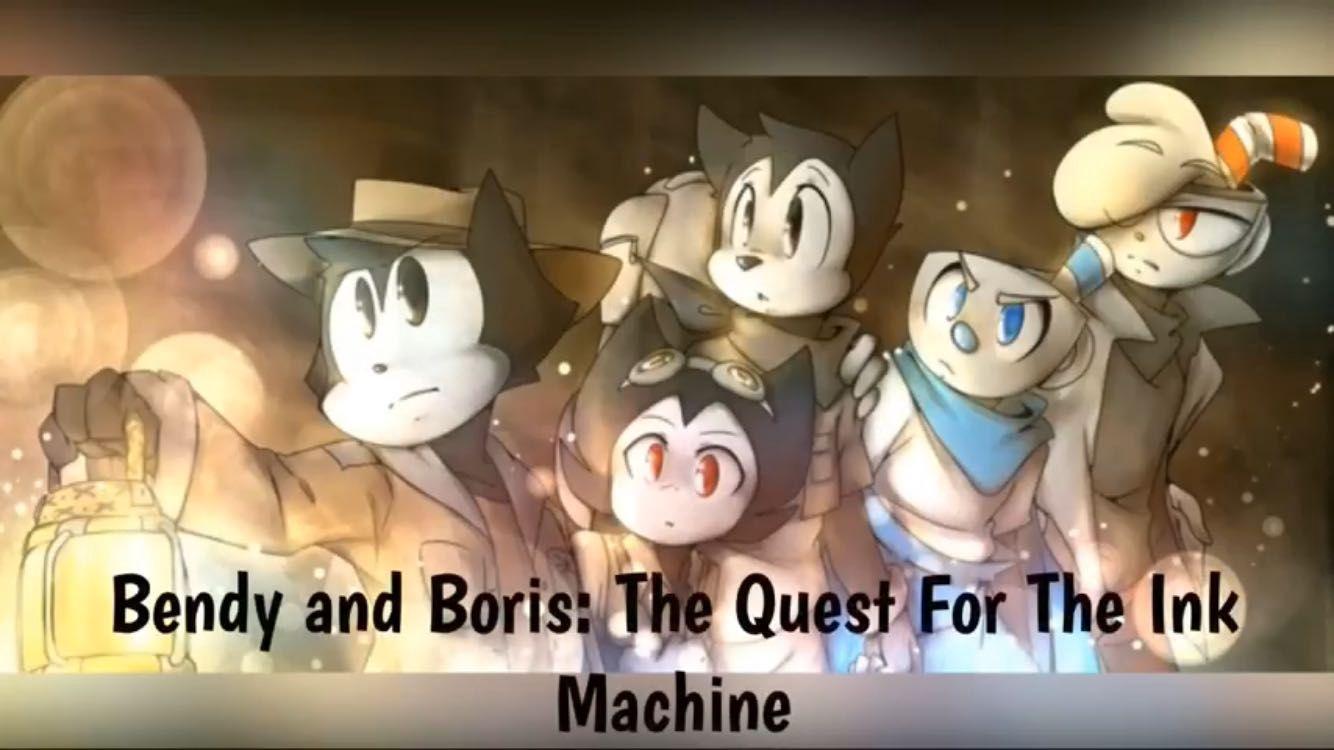 Boris Ink X Bendy Bendy Machine Felix Quest And