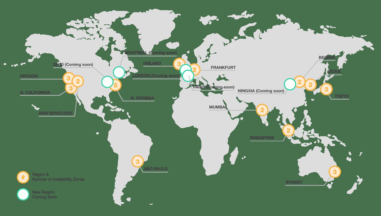 10 Global Regions Map Eu