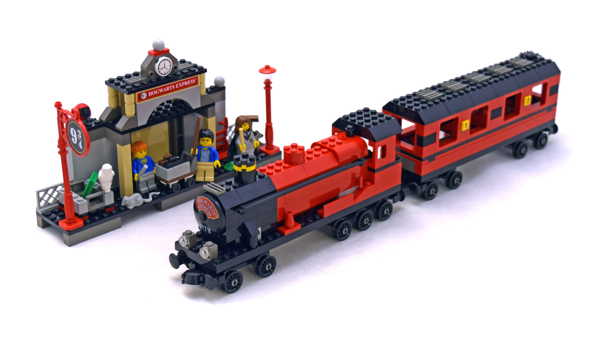 This set is retired and is now a collectors item Indeed even the latest iteration of the Hogwarts Express is out of production 4841 so prices are rising on all