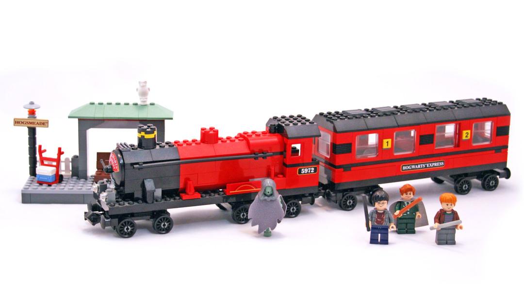 Hogwarts Express - LEGO set #4758-1 (Building Sets > Harry ...