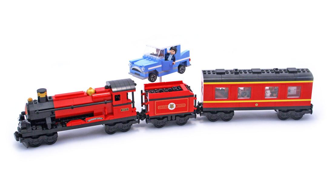 Hogwarts Express - LEGO set #4841-1 (Building Sets > Harry ...